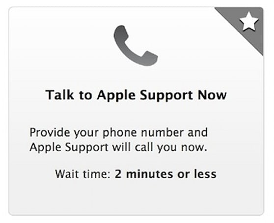 Customers can initiate screen sharing with AppleCare reps via support site