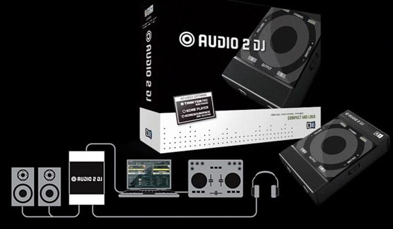 Native Instruments' Audio 2 DJ claims to be 'world's smallest' USB audio interface