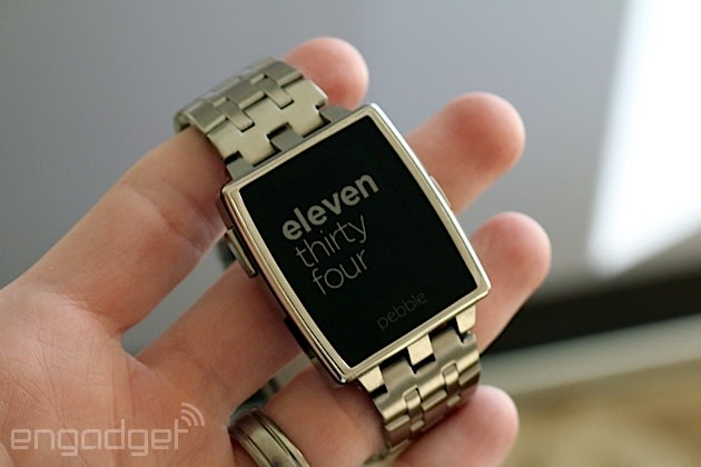 Pebble introduces the Steel, an all-metal smartwatch with ...