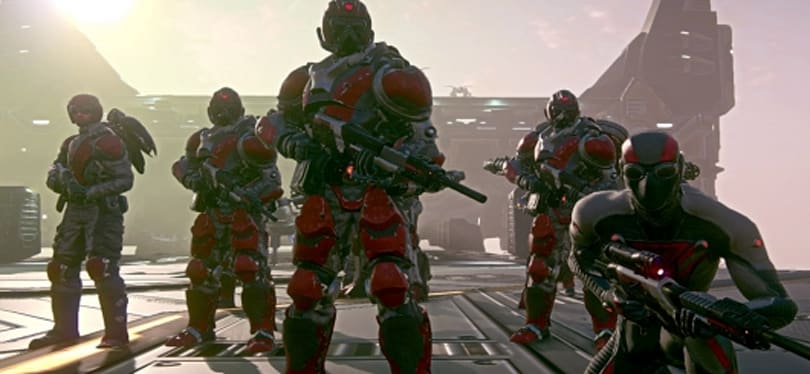 PlanetSide 2 patches in Directive improvements and space pumpkins