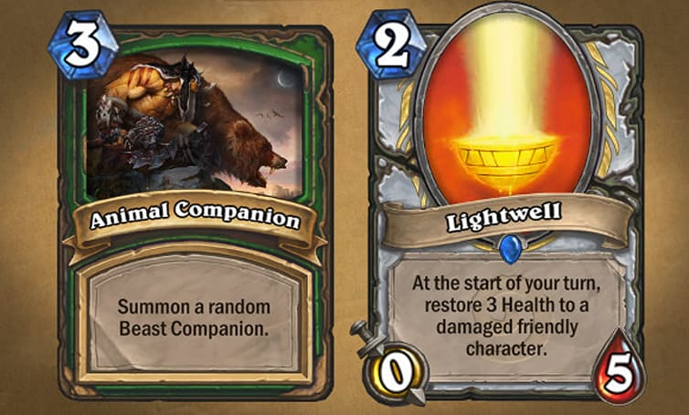 Blizzard's favorite Hearthstone cards