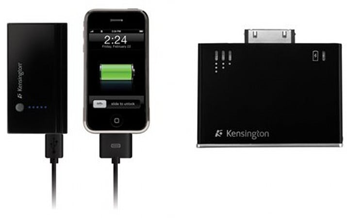 Kensington unveils Battery Pack and Charger for iPhone / iPod