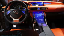 Lexus LF-CC Concept shows the future of touchscreen interiors