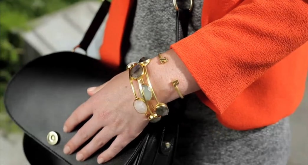 Shop this look: Celebrity-inspired personalized bangles
