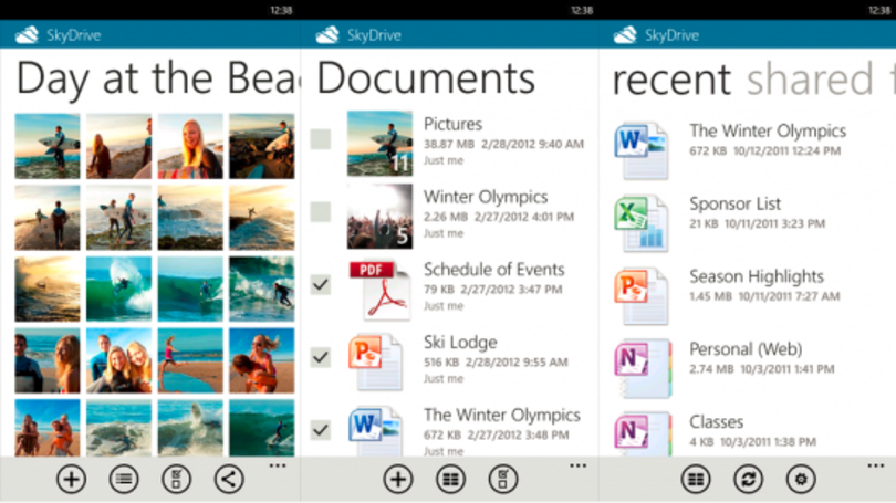 SkyDrive app for Windows Phone gets 2.0 update, reduces free storage capacity