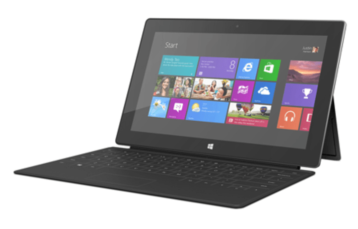 Microsoft thinks Apple is playing catch up in the tablet market