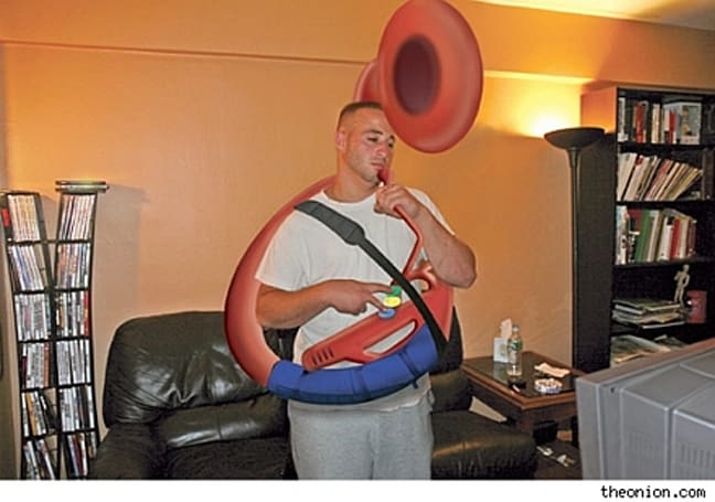 Sousaphone Hero not living up to expectations