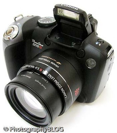 Canon PowerShot SX10 IS gets reviewed