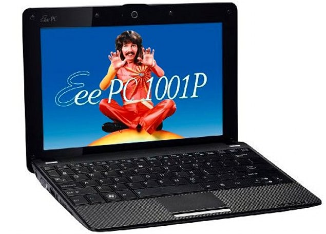 ASUS Eee PC 1001P with Atom N450 appears on Amazon.de