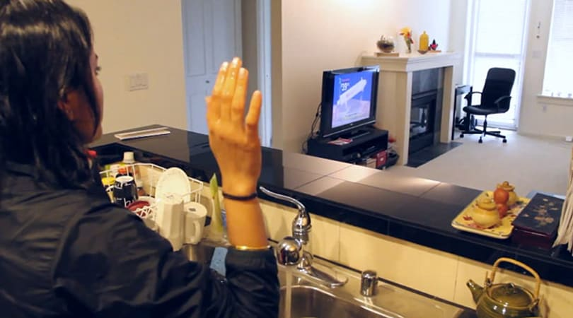 WiSee uses WiFi signals to detect gestures from anywhere in your house (video)