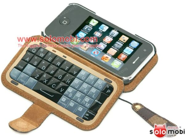 Fake iPhone comes with magical external QWERTY keyboard you've always fantasized about