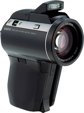 Sanyo's Xacti DMX-HD1000: the world's smallest 1080i camcorder