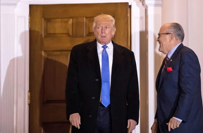 Rudy Giuliani will advise Trump on cybersecurity