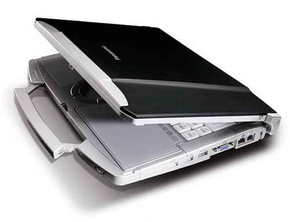 Panasonic gets official with F8, T8, W8 ToughBooks