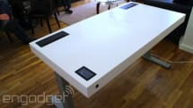 Stir's 'smart desk' now works with Fitbit, shows how many calories you've burned while standing