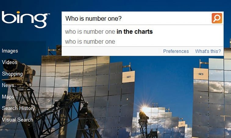 Bing advances past Yahoo! to become world's second most used search engine -- with 4.4 percent