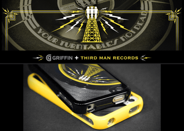 Griffin and Third Man Records team up to add vinyl to your iPhone case