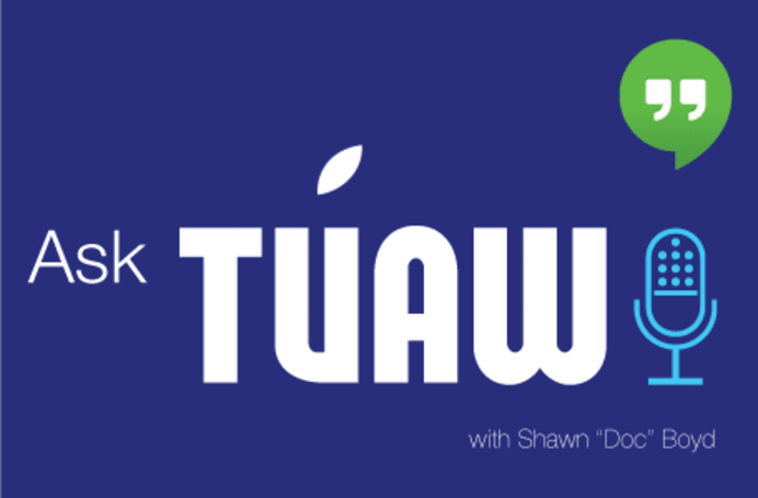 Ask TUAW Live at 5 (Eastern) today!