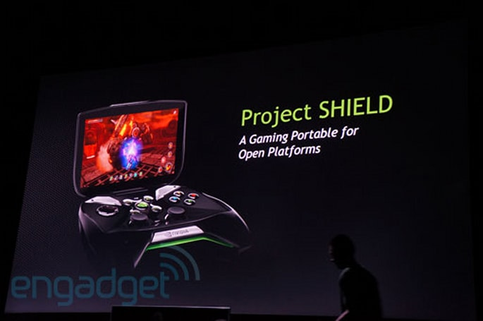 NVIDIA unveils Project Shield, a Tegra 4-powered Android gaming handheld