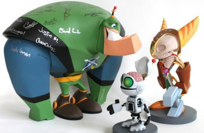 Ratchet & Clank cut-away sculptures up for auction [update]