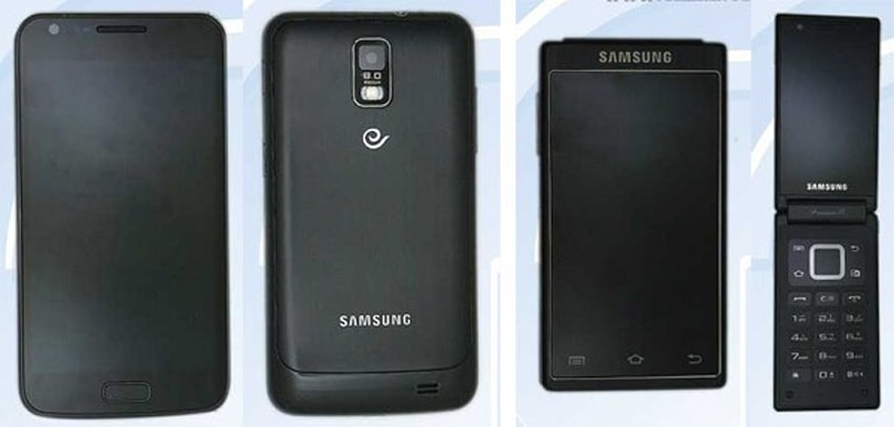 Samsung's SCH-i929 and SCH-W999 dual-screen clamshell get certified in China