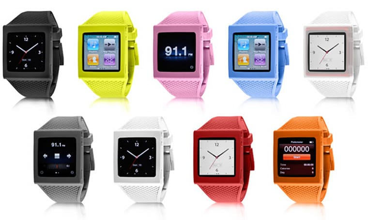 HEX ships iPod nano watch band, dares you to destroy it (video)