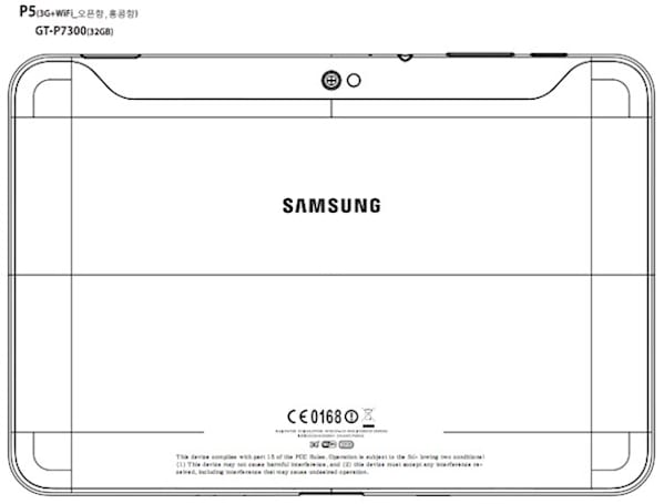 3G-equipped Samsung Galaxy Tab 8.9 hits the FCC with bands for AT&T