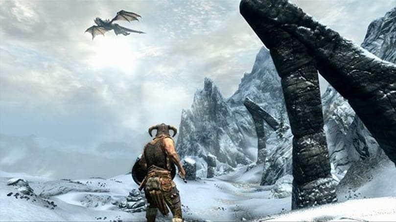 Come, watch 20 minutes of Skyrim gameplay