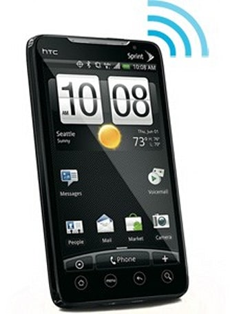 HTC EVO 4G gets unlimited WiFi hotspot skills, courtesy of root