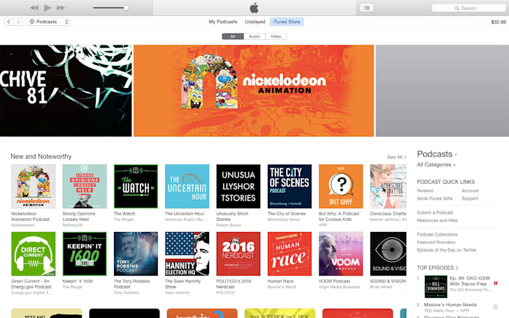 iTunes update delivers 'simpler design' with modest changes