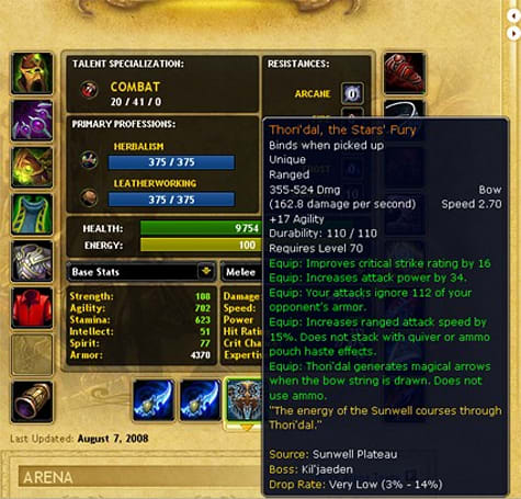 Forum post of the day: Vicarious' legend