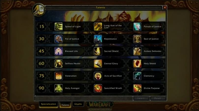 BlizzCon 2011: Blizzard reveals new talent system