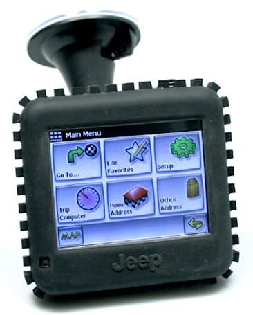 Jeep's rugged RT-300 navigator gets rough review