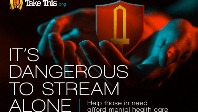 'Take This' livestream starts today with video game stars, swag