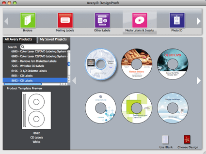 Avery design pro mac download