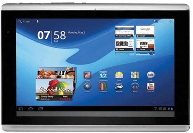 Gateway TP Series A60 tablet pops up at Future Shop, cops Iconia Tab A500's style
