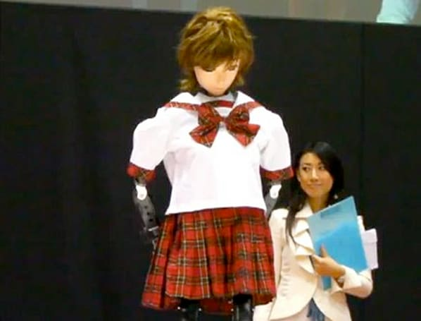 Doka Harumi's robot dance routine fills us with shame for humanity, but mostly Japan