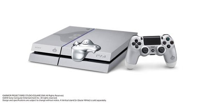 Sony's Metal Slime PlayStation 4 comes with a piece of gunk