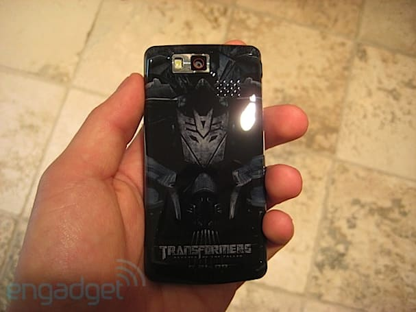 Transformers Edition LG Versa hands-on!