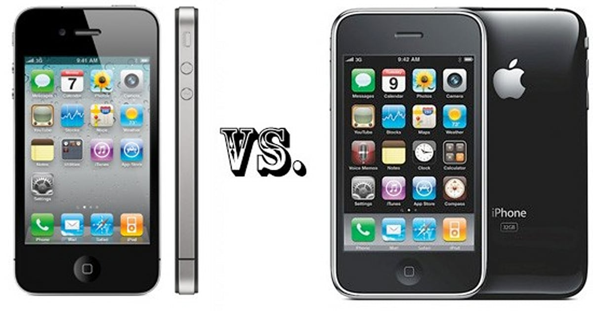 iphone 5 vs 6 iphone 4 vs iphone 3gs the tale of the 14614
