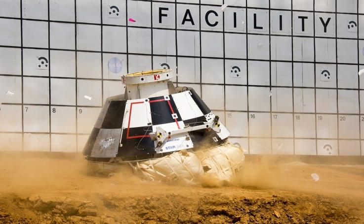 Boeing simulates worst-case scenarios for space taxi landing