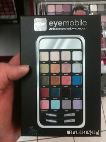 Keepin' it real fake: iPhone hits discount retailers as an eyeshadow palette