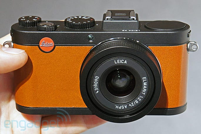 Leica X2 gets à la carte, Paul Smith editions to help you stand out from plebeian photographers (update: hands-on)