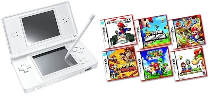 Nintendo drops DS Lite to $100, makes it easier to (Mario) party