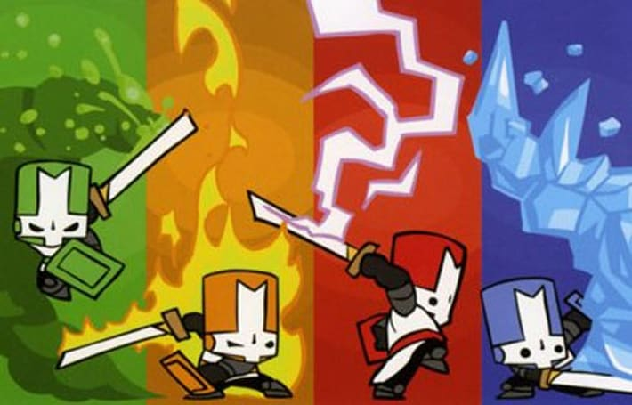 Castle Crashers priced for 1200 MS points
