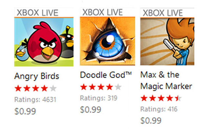 Microsoft discounts Xbox Live for Windows Phone games for Easter, offers iOS / Android prices