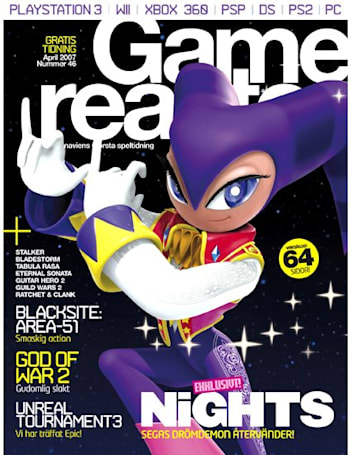 NiGHTS 2 gets out of our dreams and into our European magazines