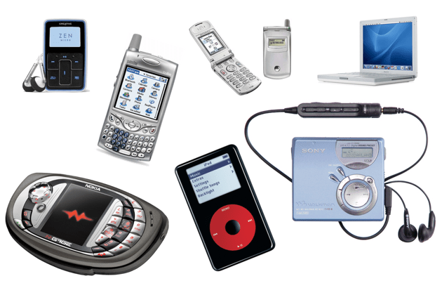 What technology was there ten years ago?