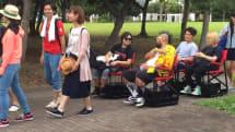 Nissan's autonomous chairs politely carry you through queues