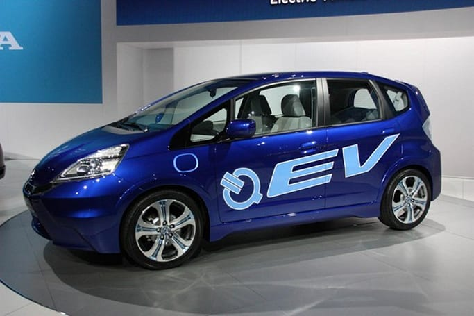 Honda shows off Fit EV concept at LA Auto Show, we hope to see it again